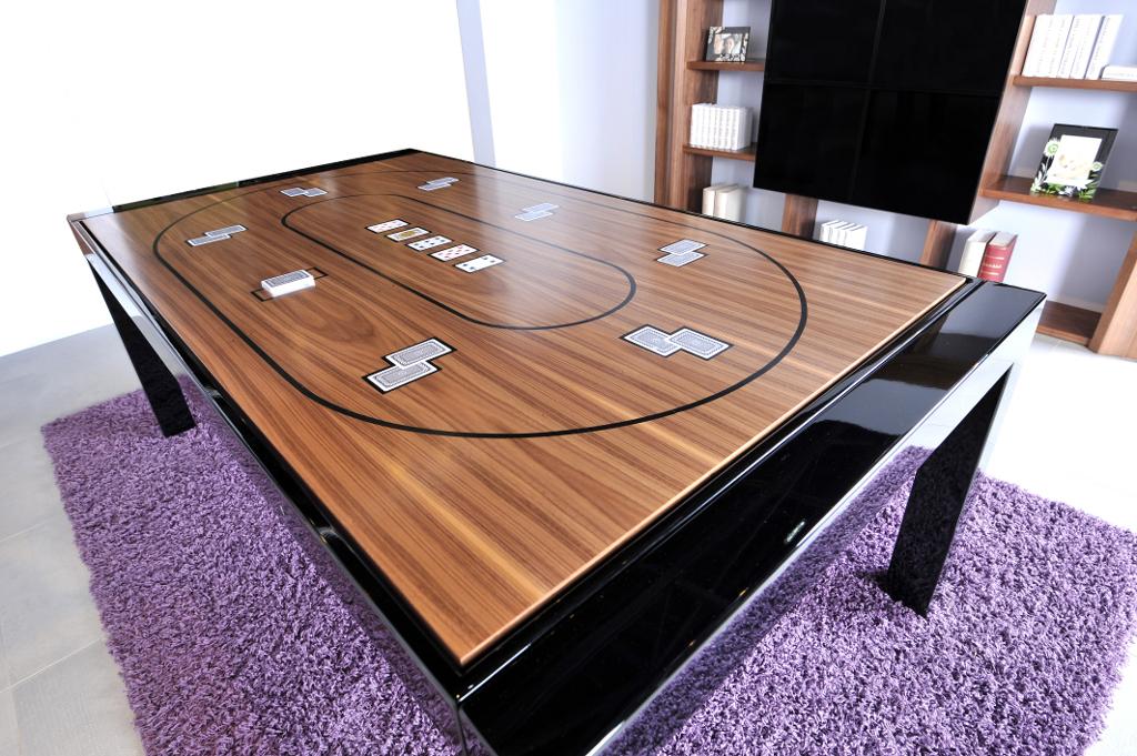 Mesa de póquer y billar BL-180 METAL - billares-lissy.es