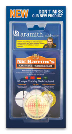 Snooker Ultimate Training Ball Nic Barrow's