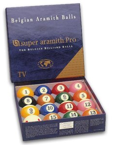 Bolas Pool Super Aramith pro TV