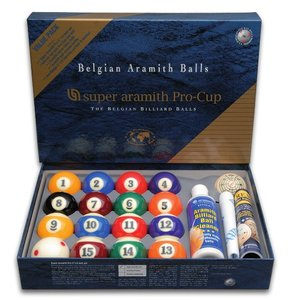Bolas Pool Super Aramith pro Value Pack