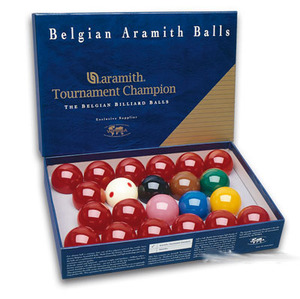 Bolas Snooker Super Aramith TV 52,4 mm